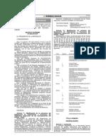 Modificación Del Reglamento de Organización y Funciones - ROF - Aprobado Por Decreto Supremo Nº 006-2014-EF Del 16012014