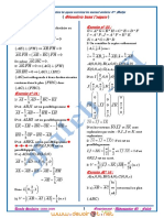 Série Corrigée - Math Géométrie Dans l'Espace - Bac Math (2008-2009) Mr Faleh