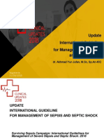 Update International Guideline for Management of Sepsis and Septic Shock