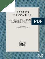 Boswell, James - La Vida Del Doctor Samuel Johnson