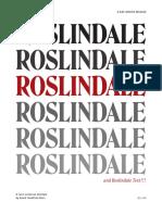 Roslindale Djr Specimen