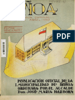 """Chile, """"Ñuñoa, 1895 - 1953"""""""