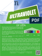 Uv Disinfection Overview
