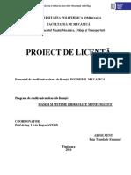 Proiectarea Si Testarea Uni Rotor de Pompa Centrifuga