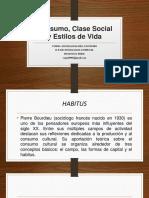 Consumo, Clase Social y Estilos de Vida