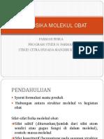 Farfis II Sifat Fisik Molekul Obat