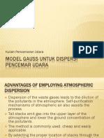 3832-assomadi-PU-X-2-MODEL GAUSS untuk DISPERSI pencemar udara.pdf