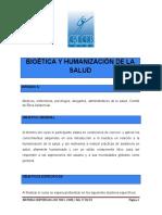 Bioetica y Humanizacion de La Salud