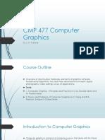 CMP 477 Computer Graphics Module 1