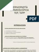HERNIOPASTIA LAPAROSCOPICA
