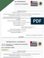 Dispendio Presidencia FCH