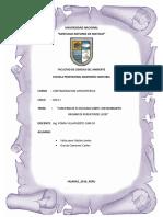 Informe Camal Municipal 2016