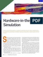 APP Hardware in the Loop Simulation