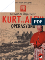 Ali Rıza Bayzan - Misyoner Örgütlerin Kürt Ve Alevi Operasyonu