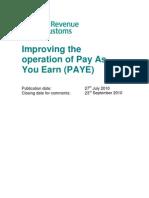 Pay As You Earn UK Proposal