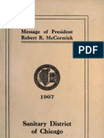(1907) Message of President Robert R. McCormick