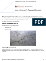 What is Shrinkage Cracks in Concrete_ -Types and Causes of Shrinkage Cracks