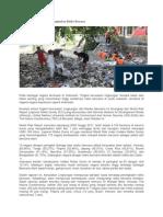 Kerusakan Lingkungan Meningkatkan Risiko Bencana