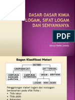 2. Bab I Dasar-dasar Kimia Logam, Sifat Logam Dan Senyawanya