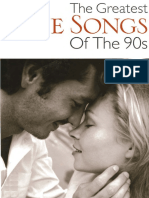 The Greatest Love Songs of the 90th