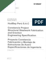 2172-3000-ES-404-Rev3 Fabricacion y Montaje de Estructuras de Acero