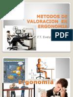 Metodos de Valoracion en Ergonomia