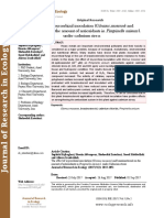 The effect of mycorrhizal inoculation (Glomus mosseae) and brassinosteroid on the amount of antioxidants in Pimpinella anisum l. under cadmium stress