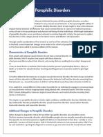 APA DSM 5 Paraphilic Disorders