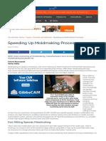 Speeding Up Moldmaking Processes - Advanced Manufacturing