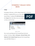 Service Windows7 Image Using DISM