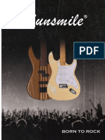 Sunsmile Guitars Catalog 2016