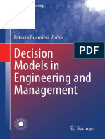 2015 - Guarnieri - Decision Models in Engineering and Management