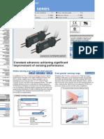 Catalogo Amplificador Fx-301 p Sunx Panasonic
