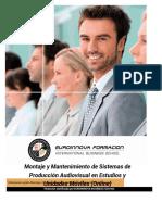 Montaje Y Mantenimiento de Sistemas de Produccion Audiovisual