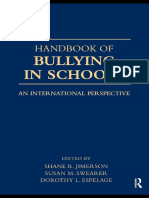 Shane R. Jimerson, Susan M. Swearer, Dorothy L. Espelage - Handbook of Bullying in Schools_ An International Perspective (2009).pdf