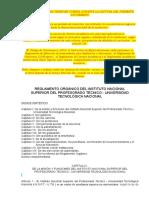 Reglamento INSPT Borrador Revisado Hasta El 16 09 2017 (1)