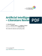 Artificial Intelligence- Literature Review