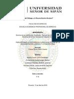 Dominio de Las Habilidades, Destrezas, Técnicas de Litigación Oral. Dimensiones de Las Técnicas de Litigación Oral.