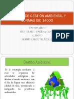 Sistemas de Gestión Ambiental y Normas Iso 14000