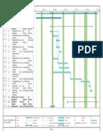 Cronograma de Actividades Cubierta de Equipos de Producción Rev. A