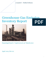 GHG Emission Inventory Report - Haldia Refinery