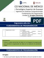 FP U4 - Arreglos (Vectores)