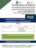 FP U1 - Algoritmos