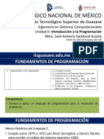 FP U2 - Intro a La Programacion