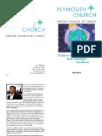 2010-2011 Faith Formation Handbook