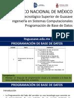PBD-U3 Programacion de BD