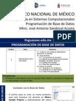 PBD-U4 Representacion de La Info