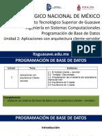 PBD-U2 Apps Con Arquitectura Cliente-servidor