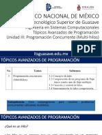TAP U3 Programacion Concurrente