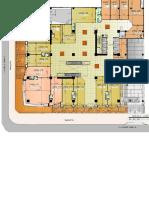 Planta 1er. Nivel Área Comercial Dubai Center Guatemala